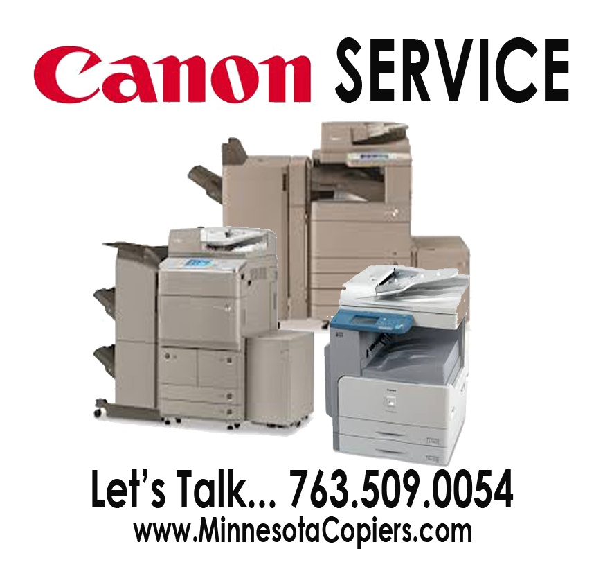 Canon Copier Repair Service Minneapolis St. Paul MN